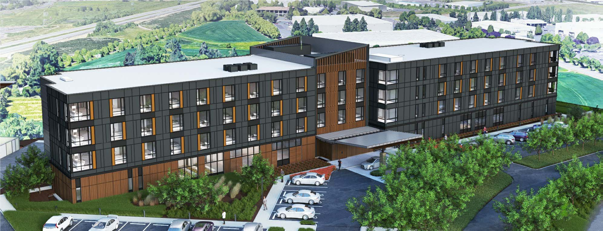 Cedartree Portland Hotel rendering