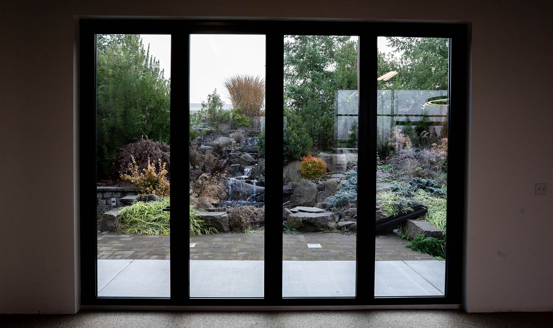 Ligman lighting construction remodel garden doors