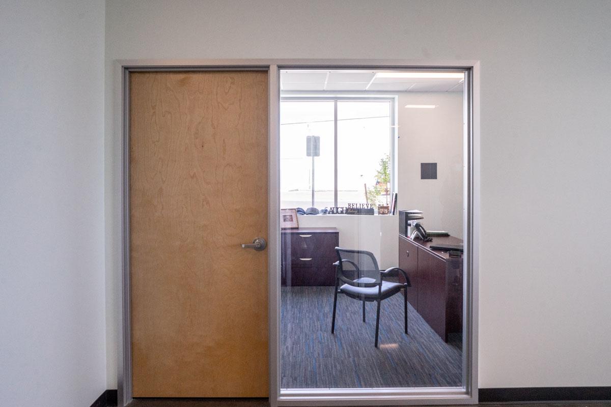 Hillsboro construction FiberSensys office