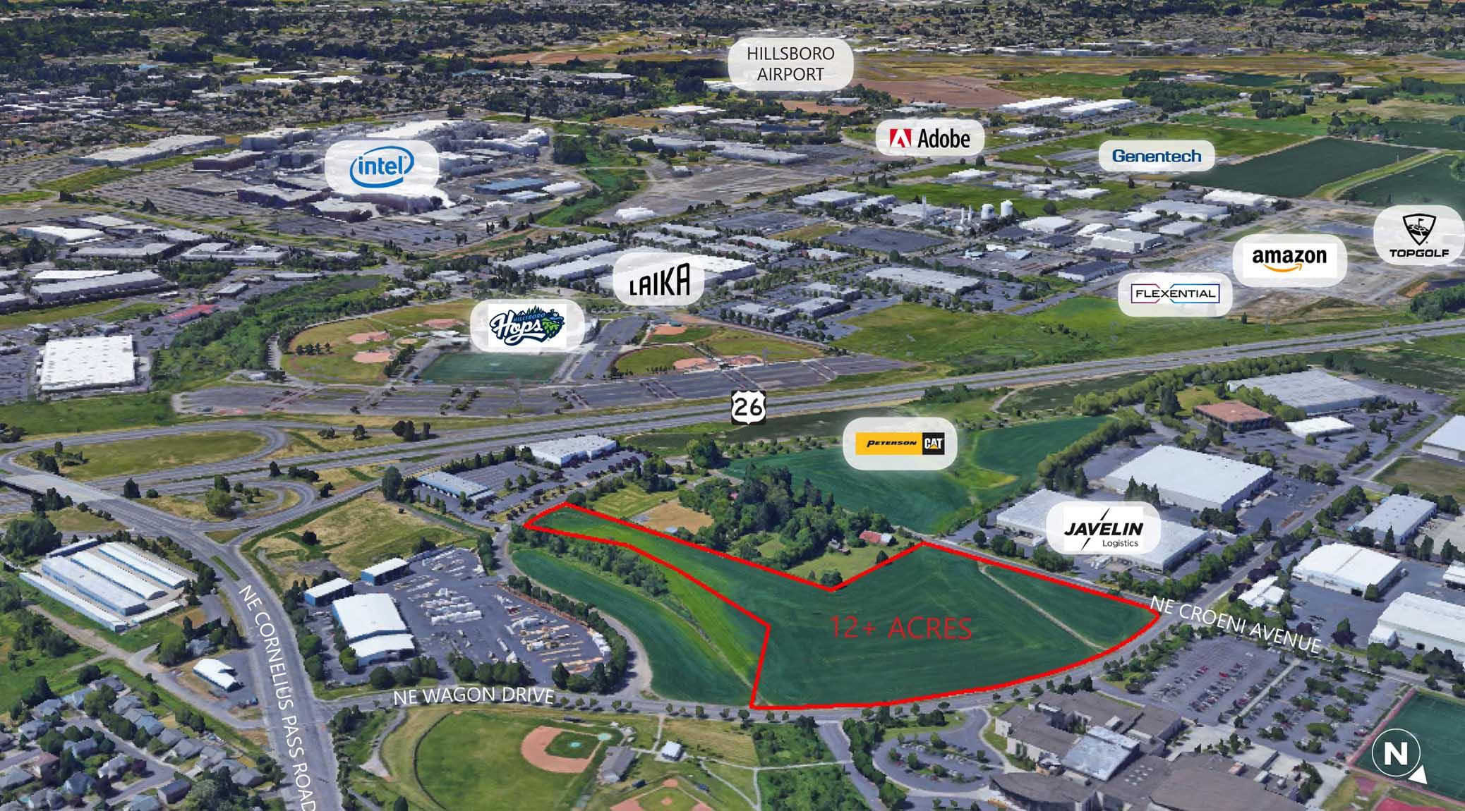 5 Oaks Hillsboro industrial building site