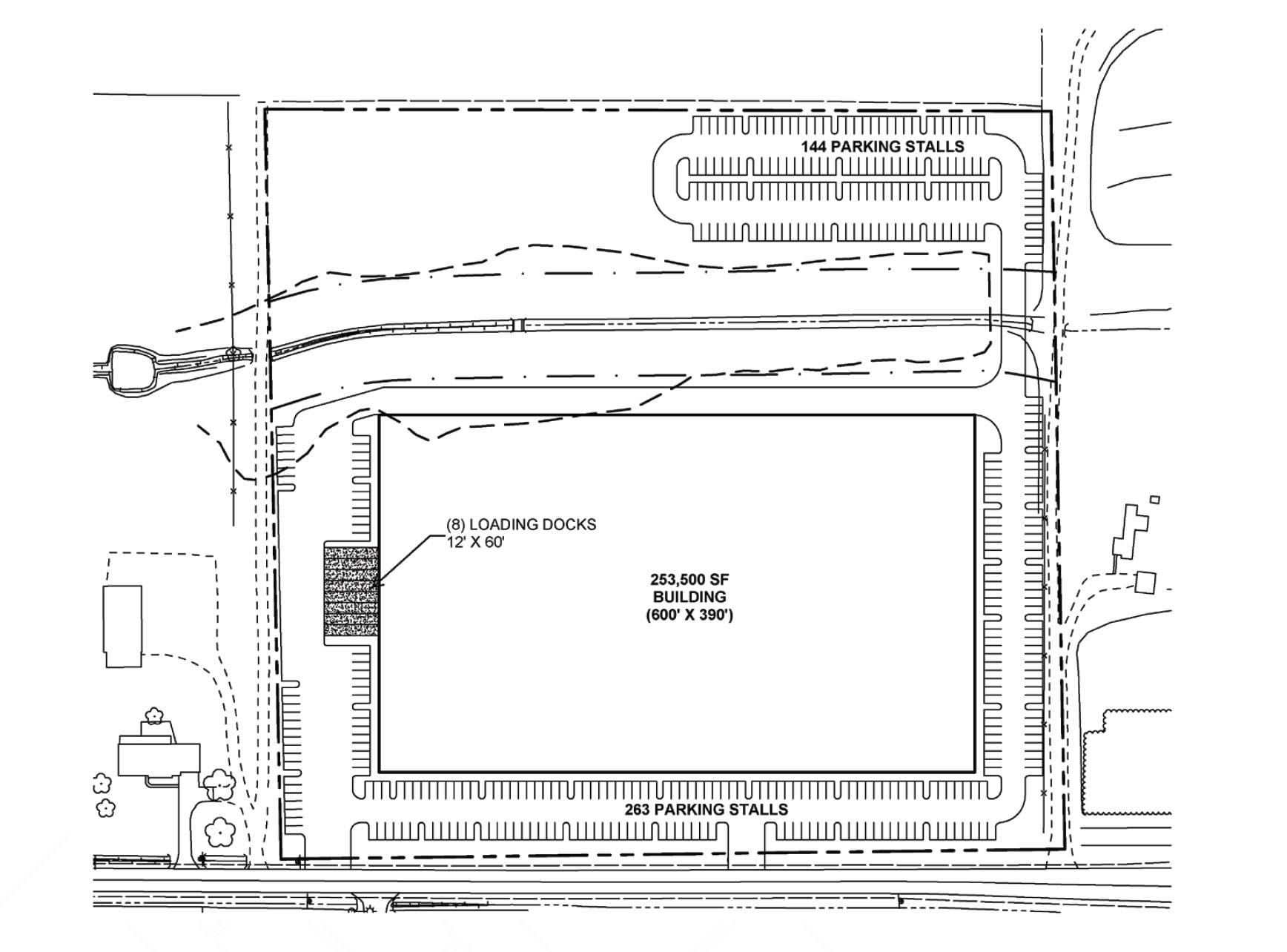 Patchett Hillsboro development site plan