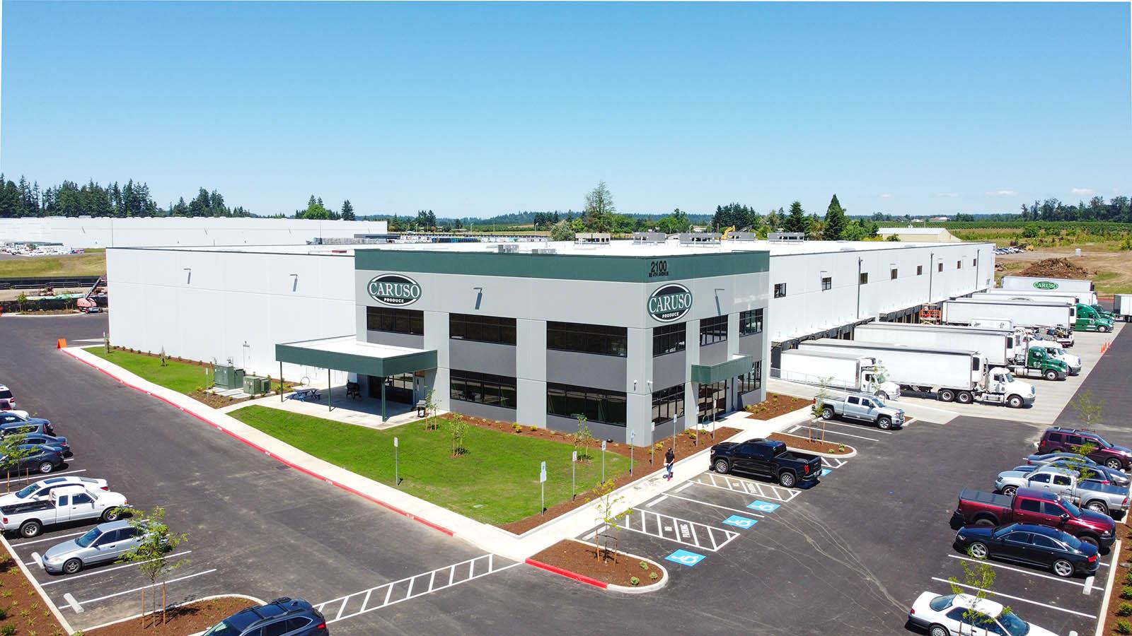 Caruso produce building exterior